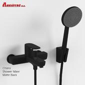 Shower mixer CHIARA BLACK