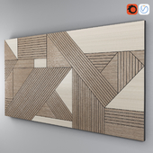 BLACK GEOMETRIC WOOD
