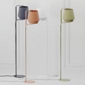 ZERO ELEMENTS Fabric Floor Lamps 4 Colors