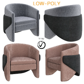 Thea Chair West Elm (low poly)