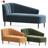 Theron Chaise Lounges The Sofa & Chair Company