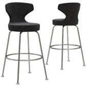 B&B Papilio bar stool