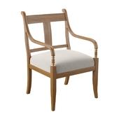 Гостиничный стул с подлокотниками