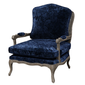 French country armchair bergere