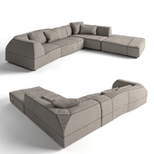 B @ B Italia Bend sofa