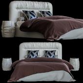 Кровать /Изголовье Drape HEADBOARD
