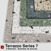 Terrazzo - Series 7 (5 Seamless Materials)