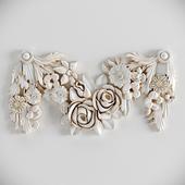Decorative Plaster Moldings Flower