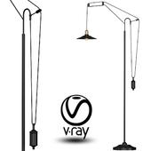 Loft Cone Pendant Balance Floor Lamp