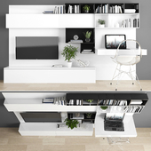 TV stand & workplace set 066