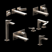 Gessi Rilievo faucets for sinks and washbasins