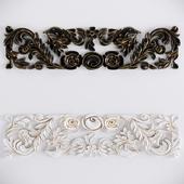 Decorative Plaster Moldings Flower 02