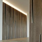Стеновая панель из дерева. Декоративная стена. 32