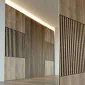 Стеновая панель из дерева. Декоративная стена. 33