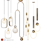 Four Pendant Lights amazing set vol3