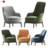 Flexform Leda Armchair Set