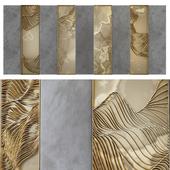 Waves - Metal wall panel 8