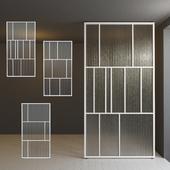 Glass partition door 29