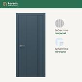 "Interior door factory ""Terem"": Lingo 02 model (Techno collection)"