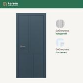 "Interior door factory ""Terem"": Linea 04 model (Techno collection)"