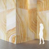 Fiandre Precious Stones YELLOW ONIX 300x150 cm onyx slab Tile Set