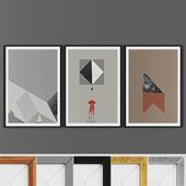 Picture frame set 00019-1