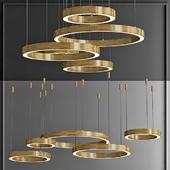 Люстра Light Ring Horizontal von Henge designed by Massimo Castagna in 2012