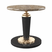 coffee table round marble