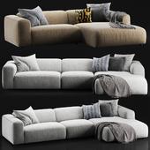 Rolf Benz freistil 187 sofa set
