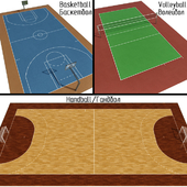 Handball / Basketball / Volleyball