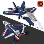 LEGO Blue Power Jet