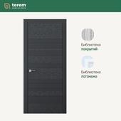 """Interior door factory """"Terem"""": model Combo 02 (Design collection)"""