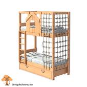 Детская двухъярусная кровать (model 201)