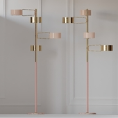 Creativemary BROMPTON Brass Floor Lamp