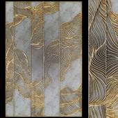 Waves - Metal wall panel 12