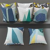 Set of decorative pillows number 1
