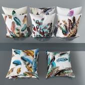 Set of decorative pillows No. 2