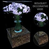 Bouquet vase decorative