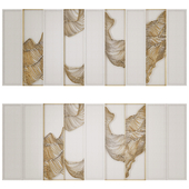 Waves - Metal wall panel 13
