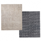 Carpet Mosaic Hand-Knotted Silk by Restoration Hardware