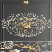 Branching Bubbles Chandelier