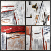 Paintings abstract | set 422