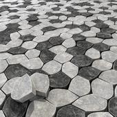 Брусчатка из многоугольников / Paving Ngon