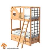 Детская двухъярусная кровать (model 203)
