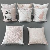 Набор декоративных подушек № 3