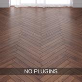 Red Cherry Wood Parquet Floor vol.003 in 2 types