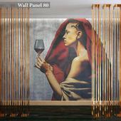 Wall panel 80