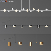 Linear Suspension Chandelier Collection 02