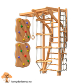 Children's sports complex (model 129)