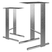 Untitled Side Table 2.0_Mod 02_Chrome